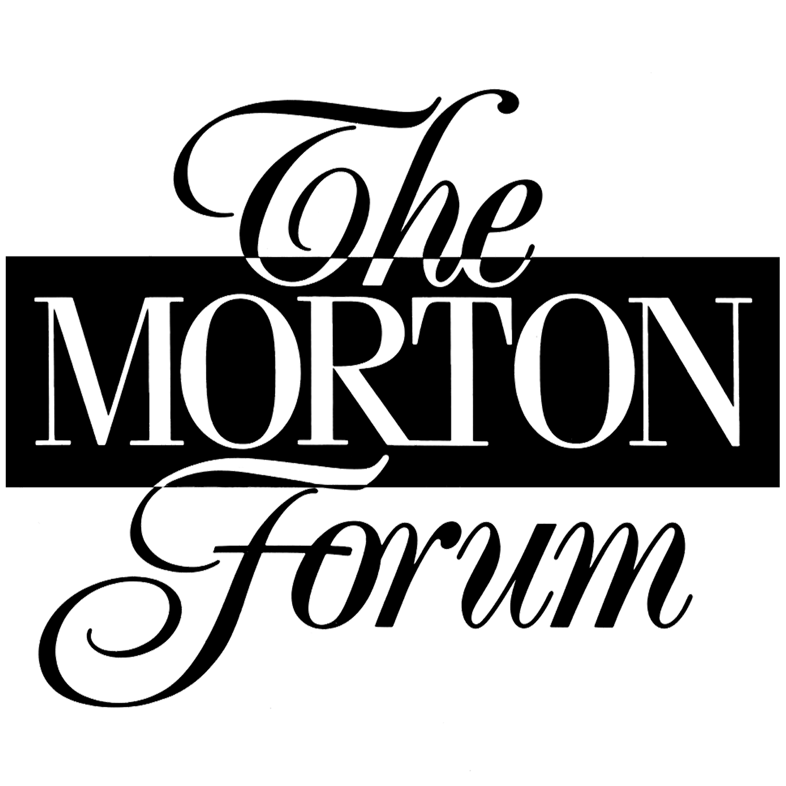 The Morton Forum   The forum was developed as a luncheon program and as an aid to present company financials to investment managers in an open and relaxed setting.