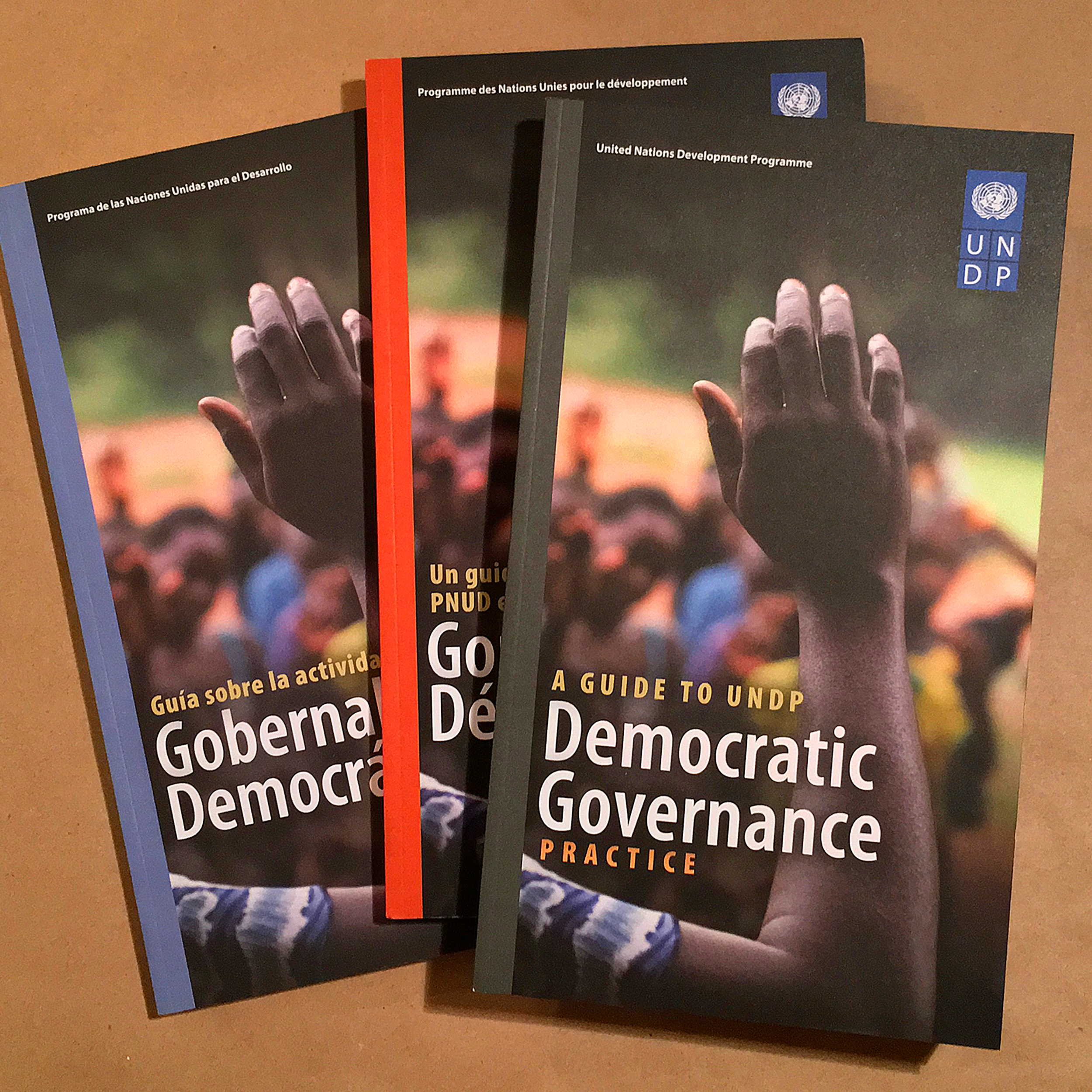 Guide to Democratic Governance   From UNDP's Oslo office, these +100-page reports provided an in-depth look into the critical work of Democratic Governance in developing countries. Designed and produced in English, French, and Spanish.