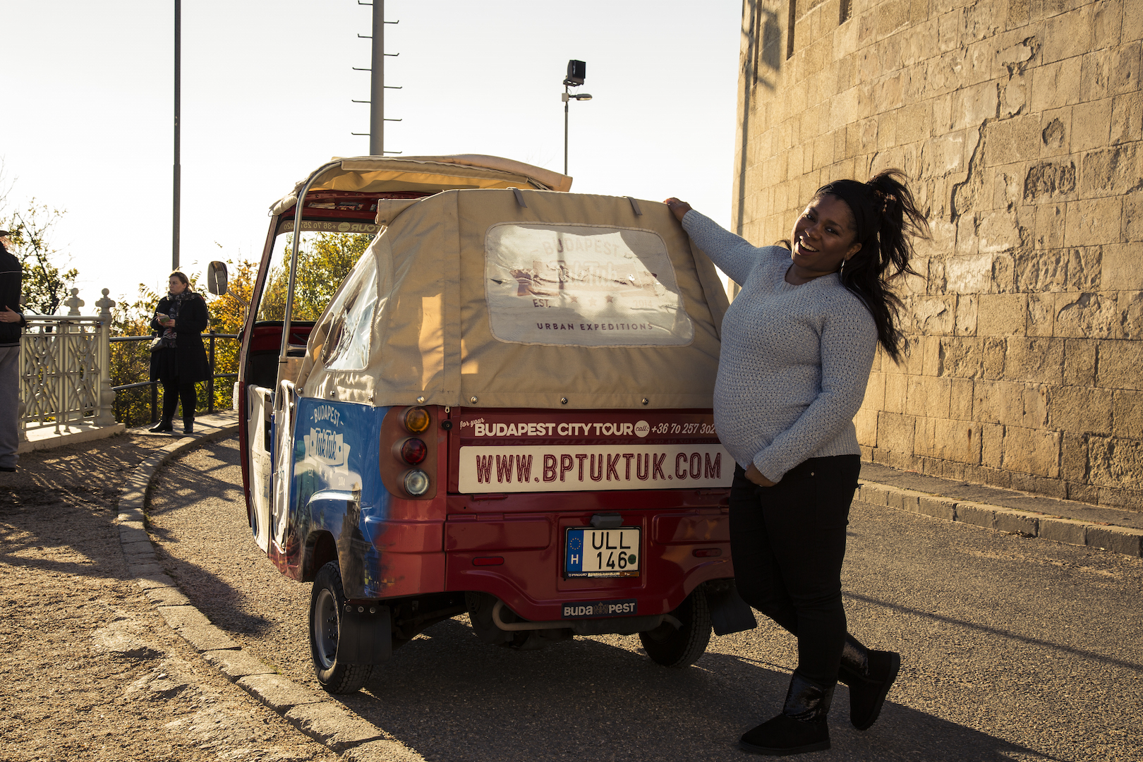 5 Months pregnant and I loved the Budapest Tuk Tuk. You should try it!