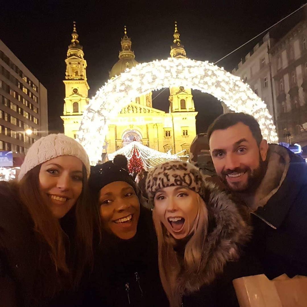 St. Stephen's Basilica - Budapest Christmas Market
