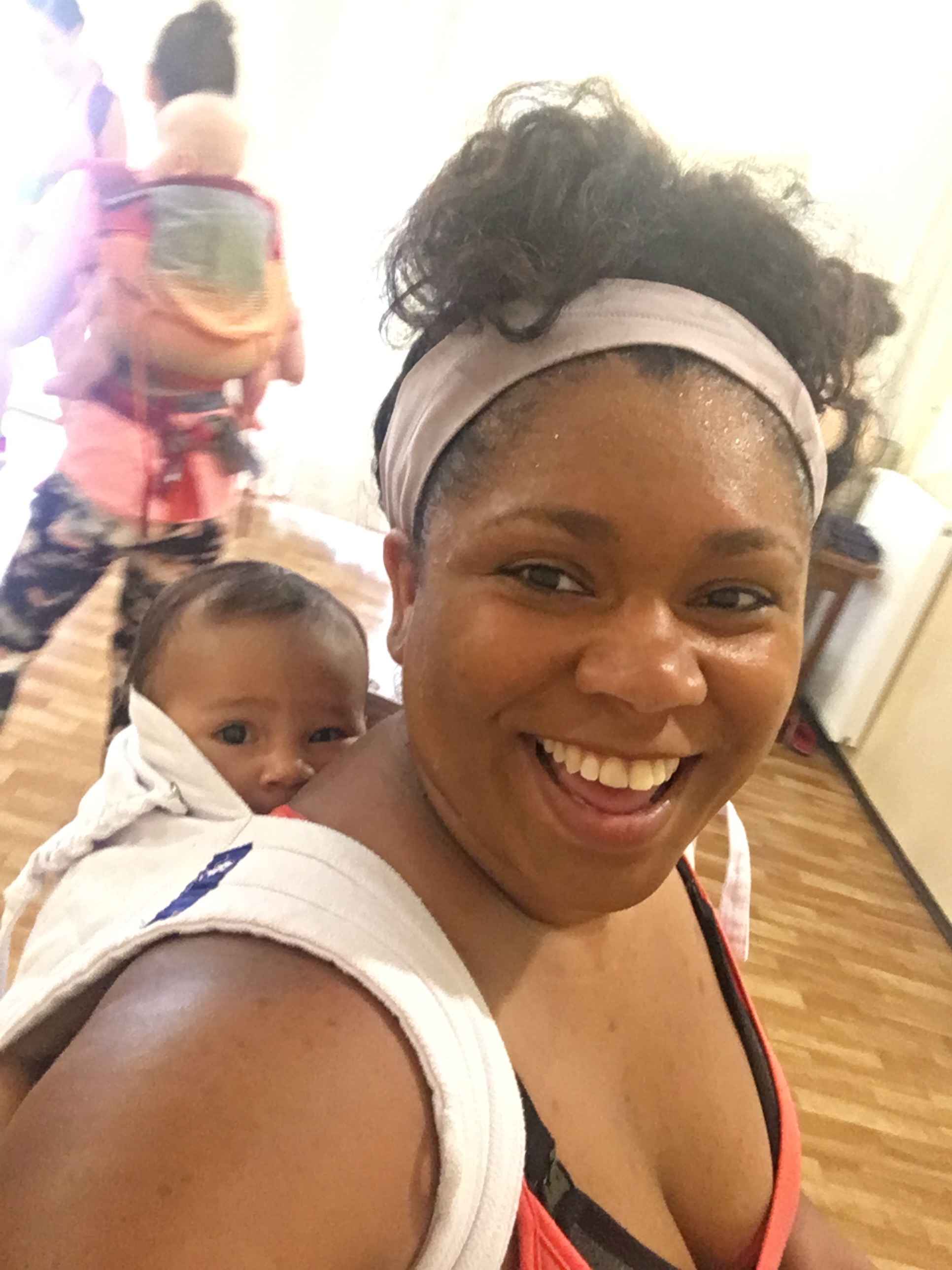 Fitness with Baby! - Watch us dance on Instagram!