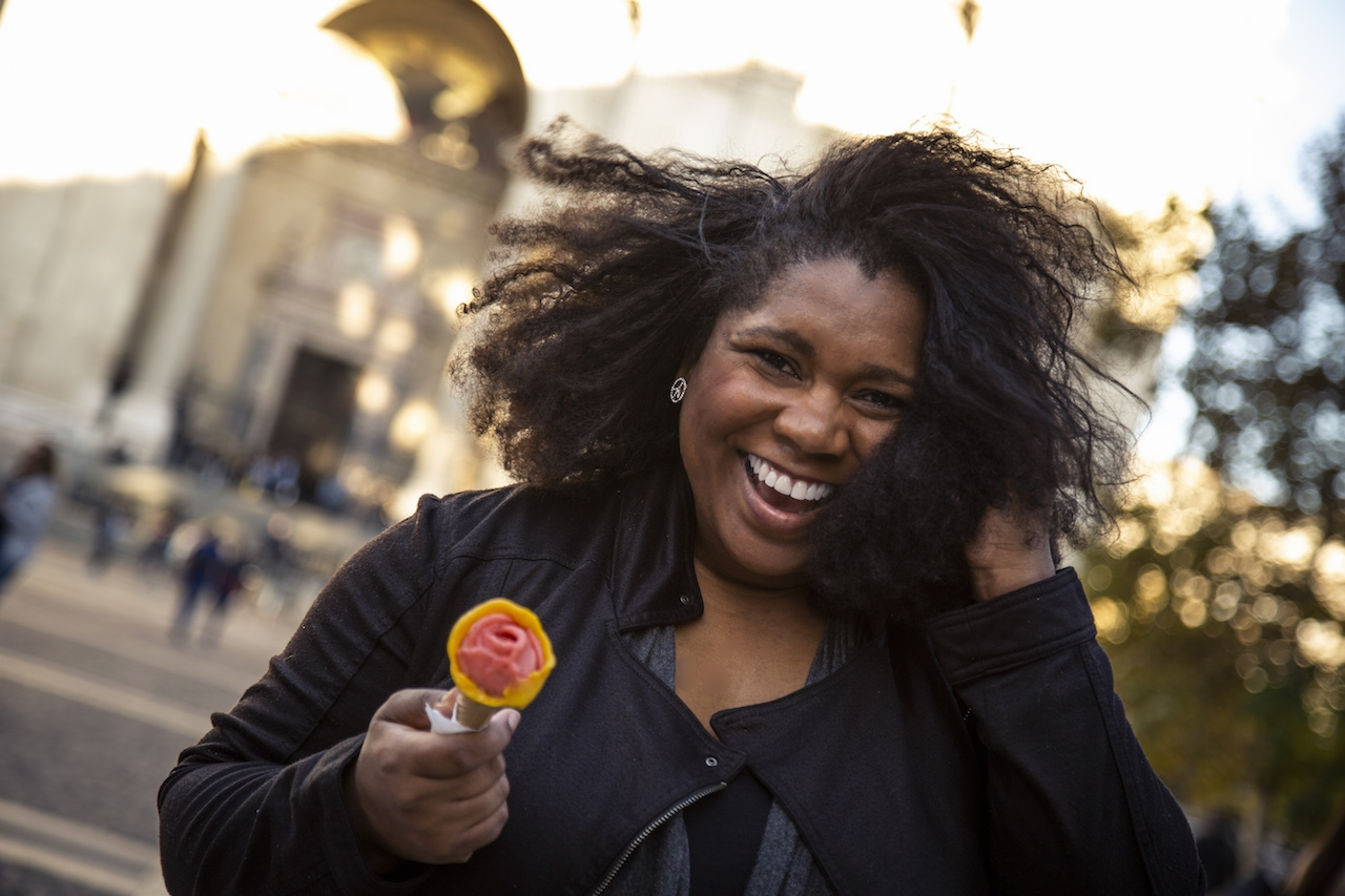Budataste Food Passport - Black Girl In Budapest - Gelato