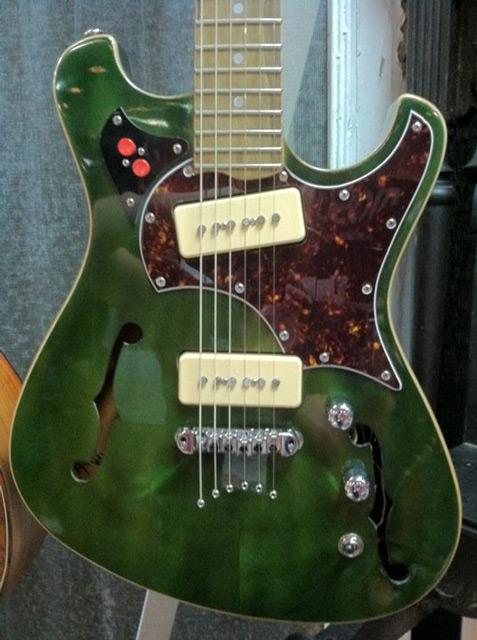 BA Ferguson Guitars' The Shirley Mclean. Photo by Premier Guitar.