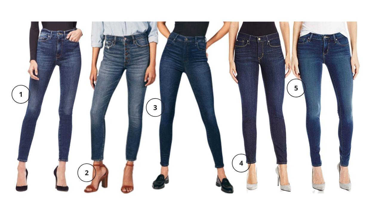 Dark Wash Denim, Affordable Jeans