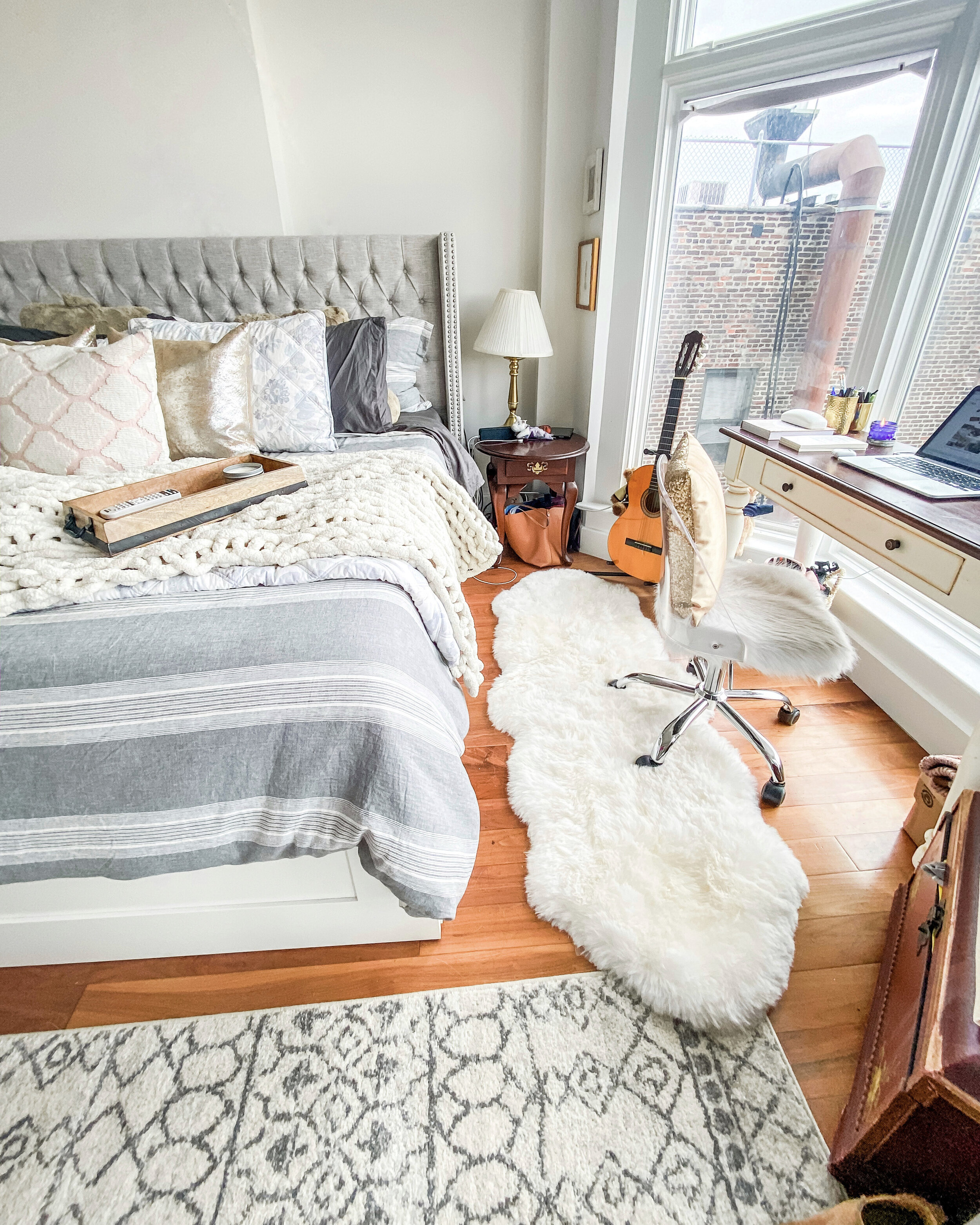 New York City Apartment Bedroom Tour Olivia Shea Style