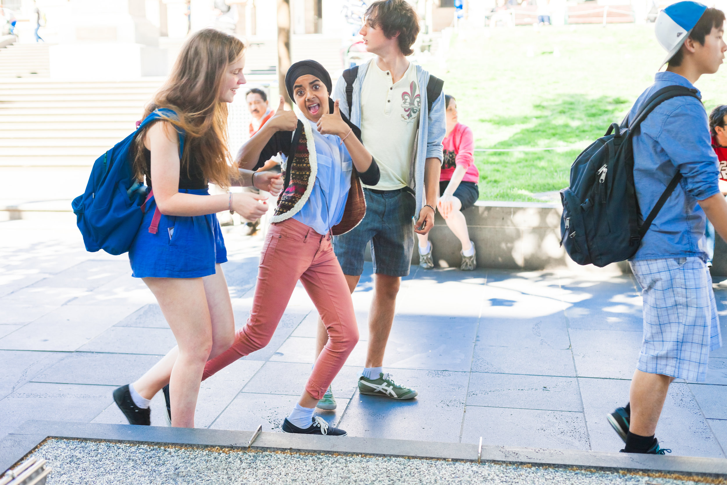 Teen friendship