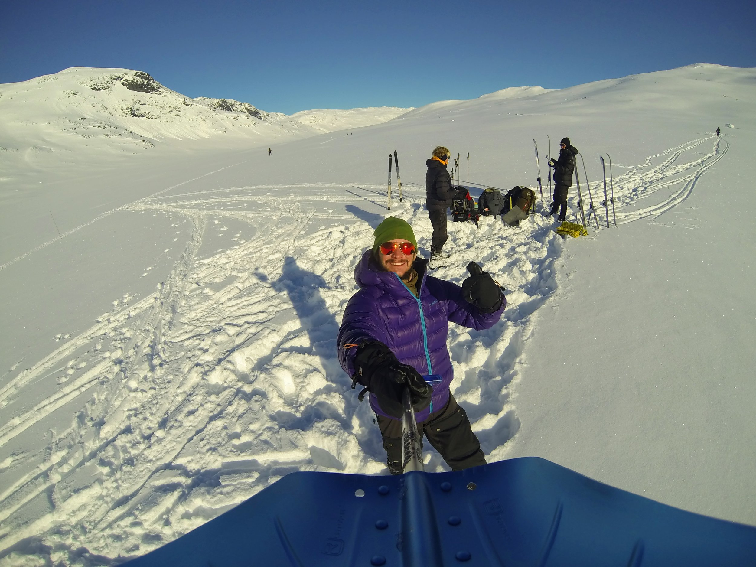 Fra min vinterfjeldstur i  Hurrungarne  i 2016