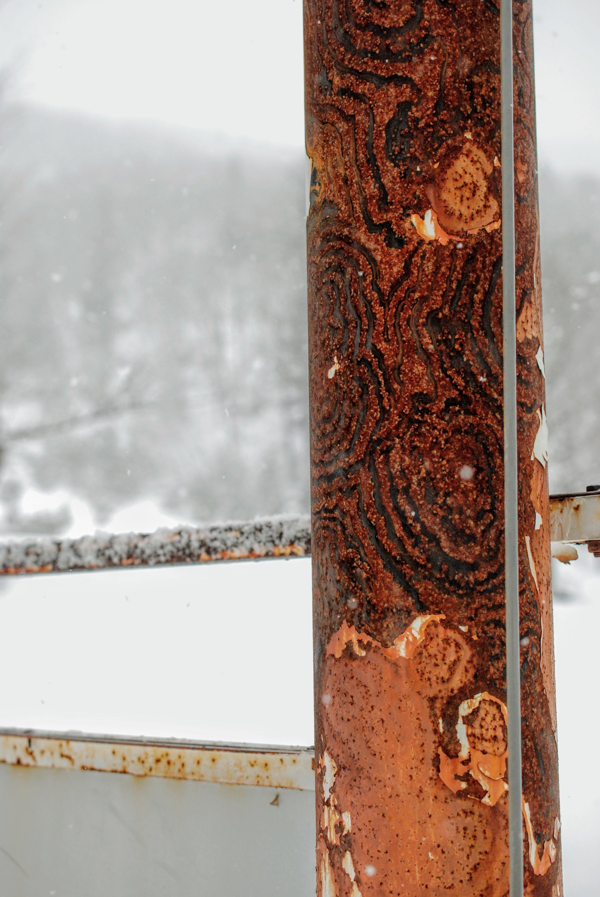 Rust i flotte mønstre