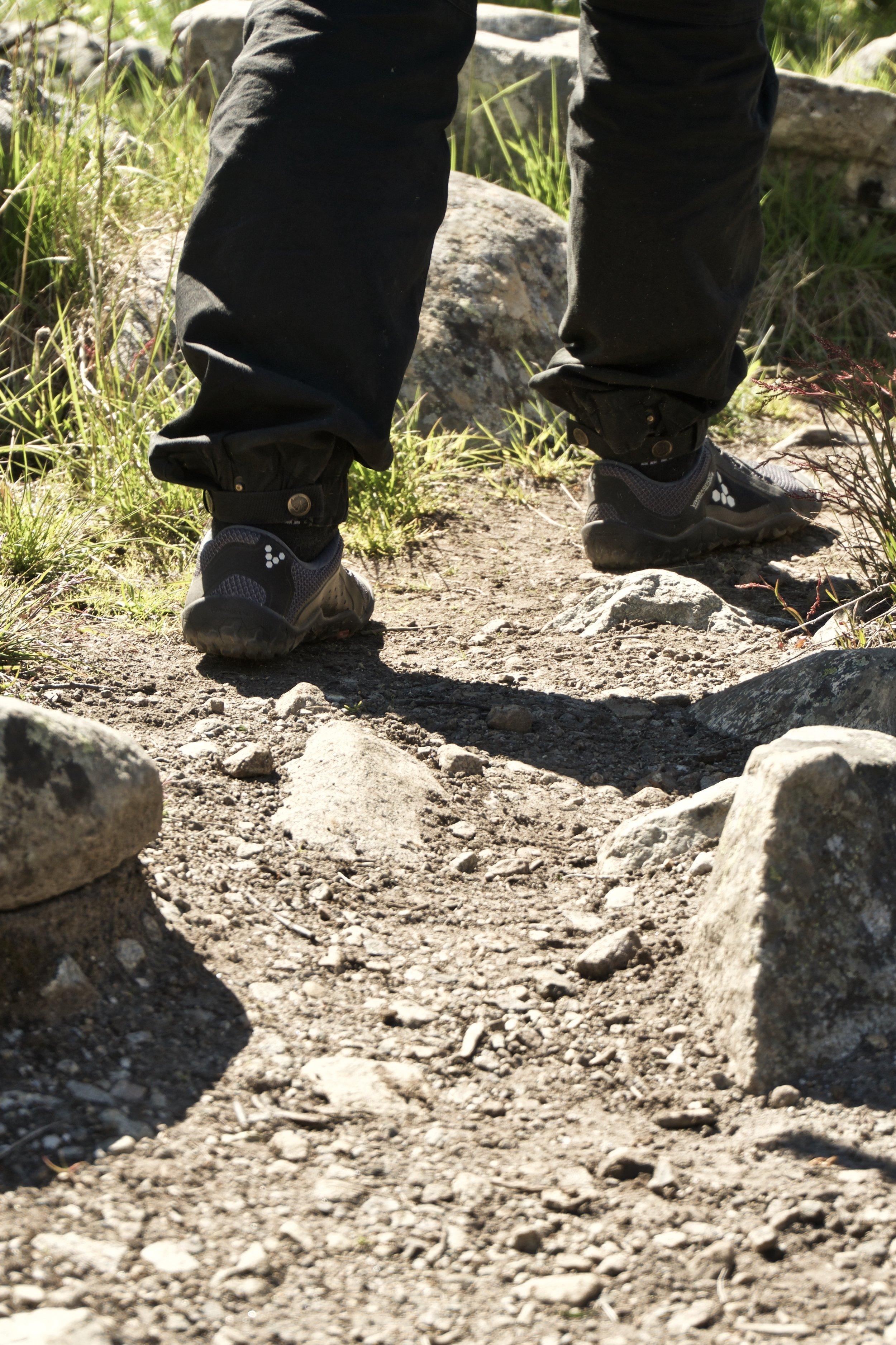 Johannes  Primus Trail FG  på ruten på vej igennem  Memurudalen
