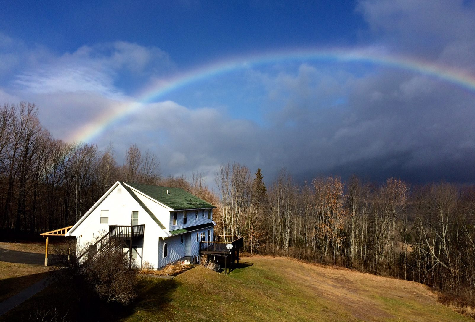 Rainbow Over Retreat Center