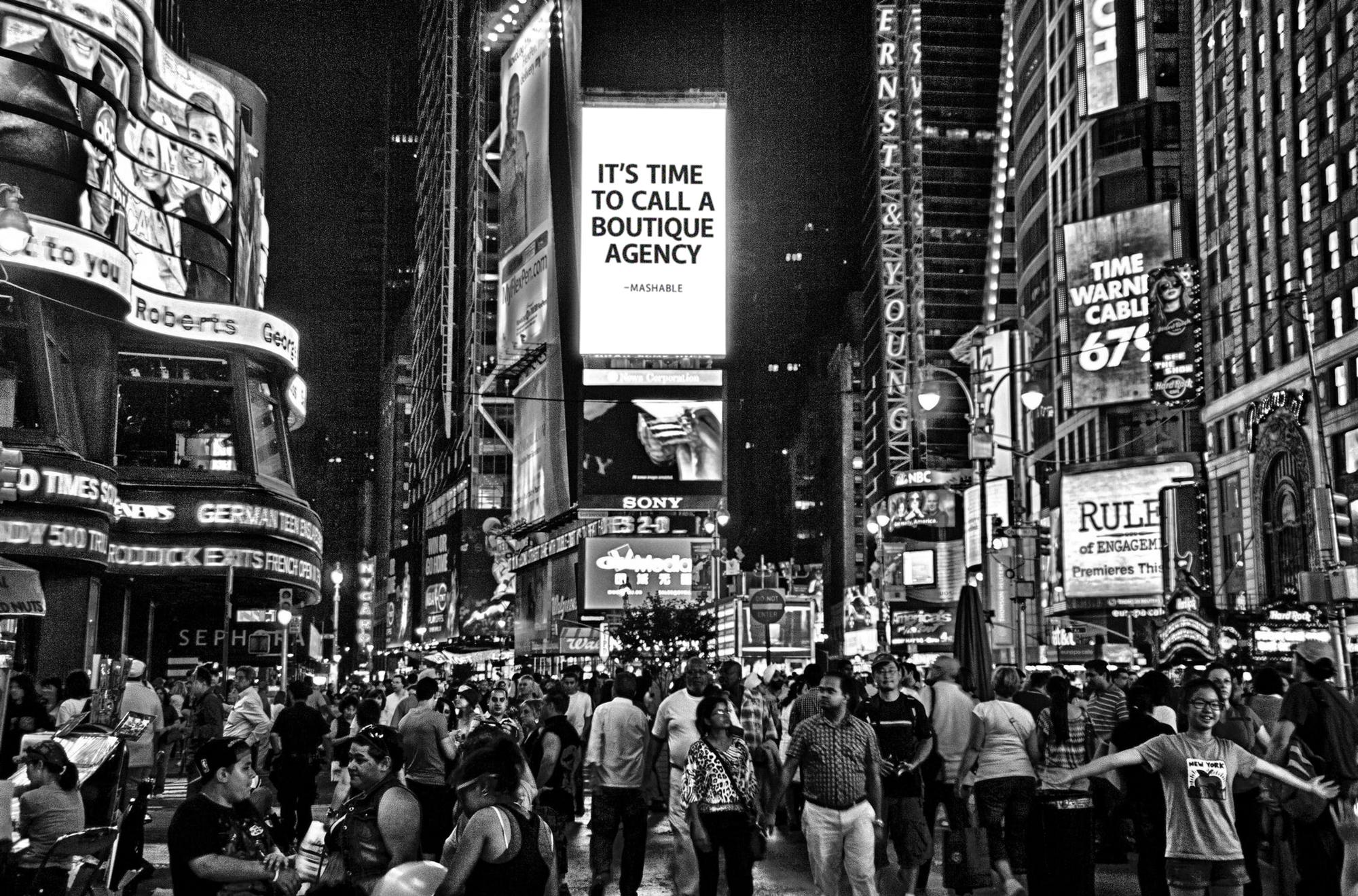 Times Square Billboard