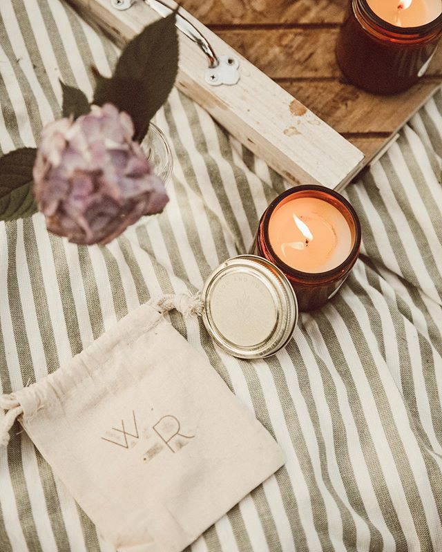 Don't forget to use Promo Code COZYNUP for 15% off your order! All candles come in a W+R stamped muslin pouch. Maybe I'll throw in some free tealights as well... 😉 📷: @ckmontphoto . . . #homedecor #candles #soycandles #cleanburning #giftideas #longisland #newyork #fireisland #summerdecor #falldecor