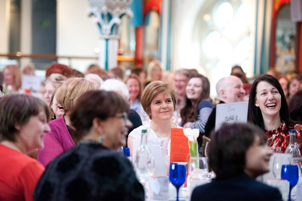 Women's Support Project - Lunch for Janette at Oran Mor - 21 April 2013