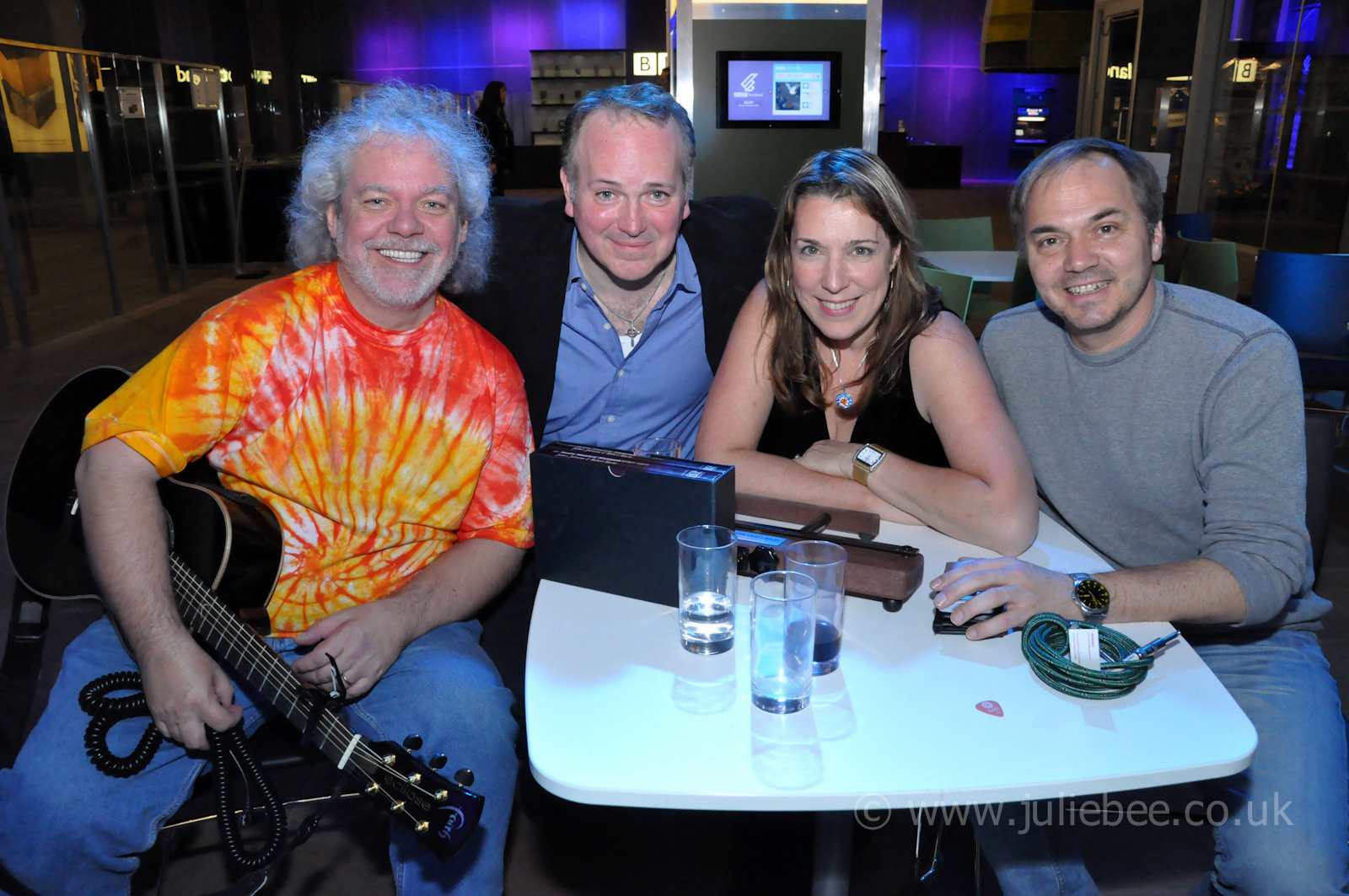 Celtic Connections - Claudia Winkleman at Pacific Quay - 22 Janu
