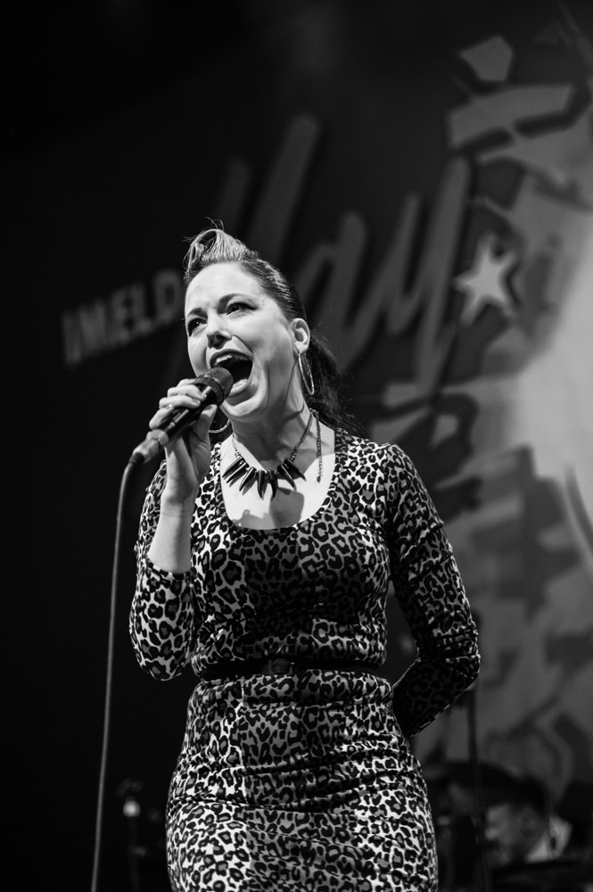 Imelda May at Old Fruitmarket, part of Celtic Connections, 30th January 2014
