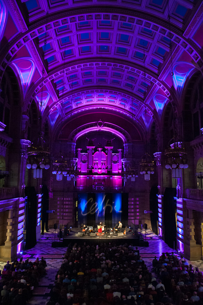 Rachel Sermanni performing at Kelvingrove Art Gallery, 31st January 2014. Part of Celtic Connections.