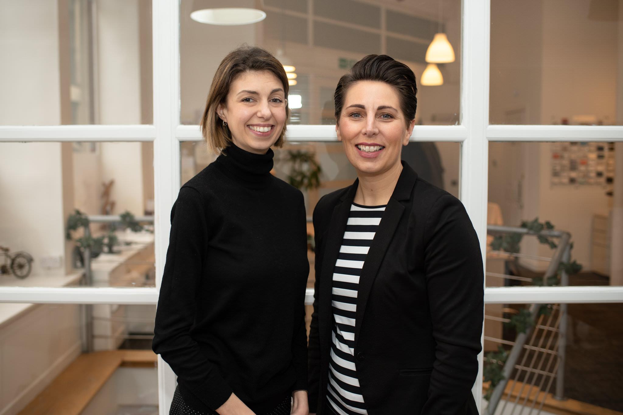 Lesley Reid and Luisa Crawford - © Julie Broadfoot - www.juliebee.co.uk