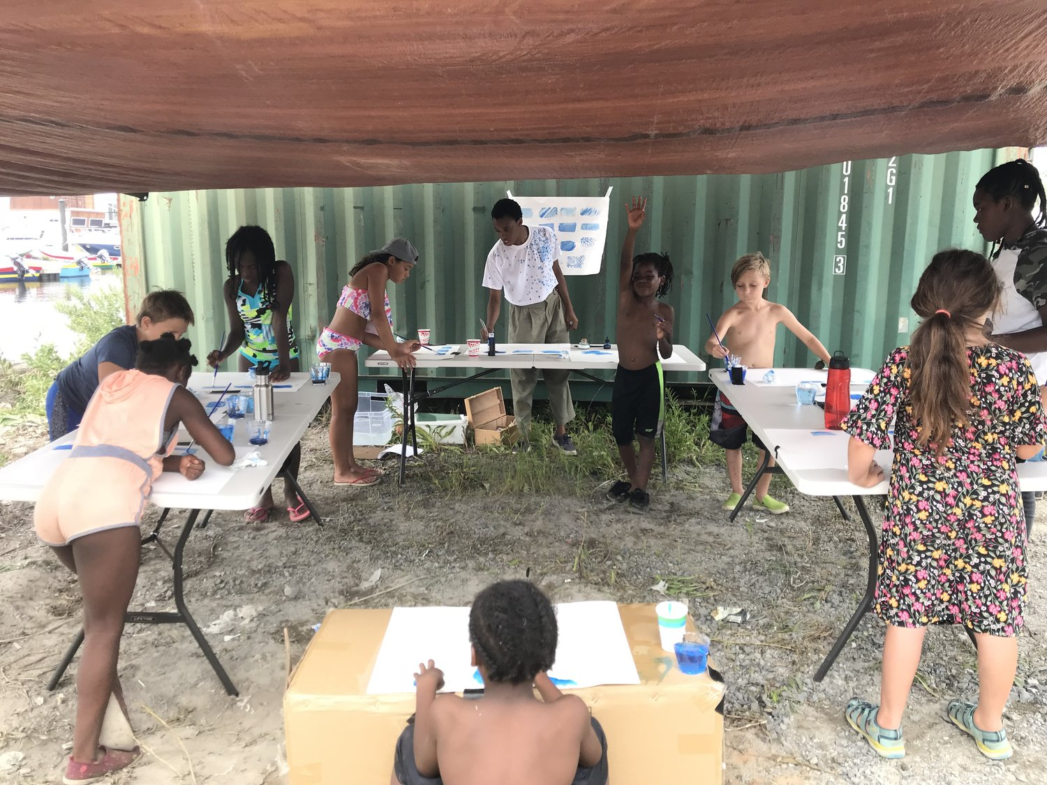 Drawing With Water with Chioma Ebinama , SEA LEVEL 2018