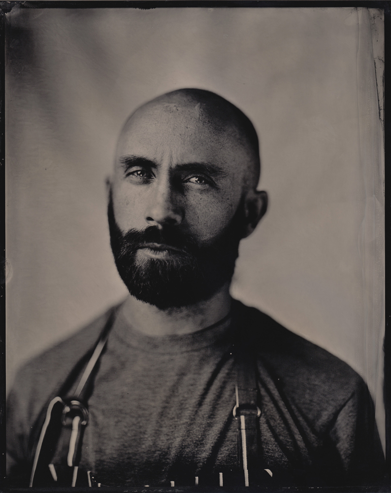Daniel Barter self_portrait flash tintype wet plate portrait alternative process collodion voigtlander heliar gandolfi.jpg