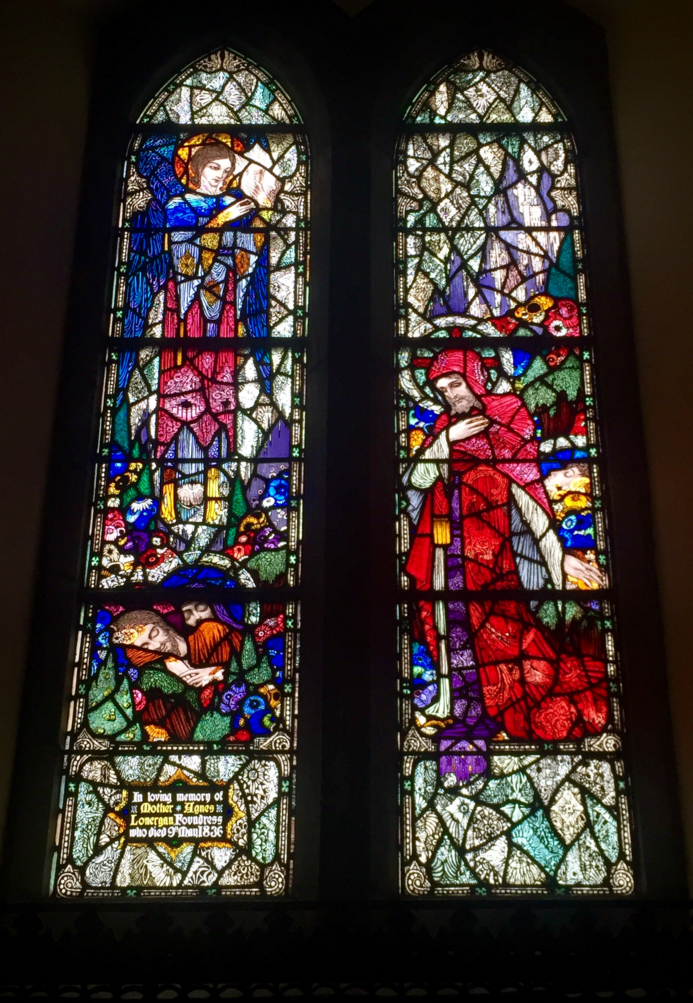 One of my favorite of the Harry Clark windows of Diseart