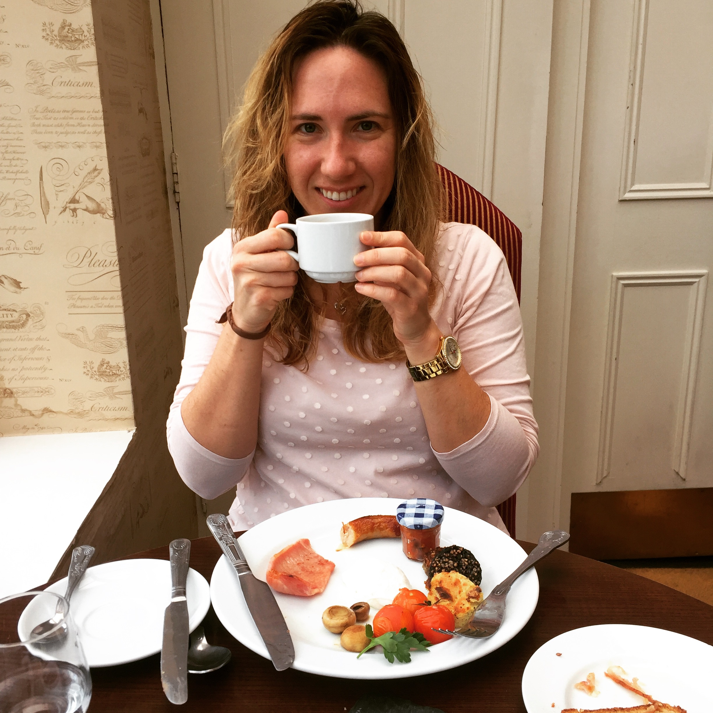 Traditional Irish breakfast at Ariel House