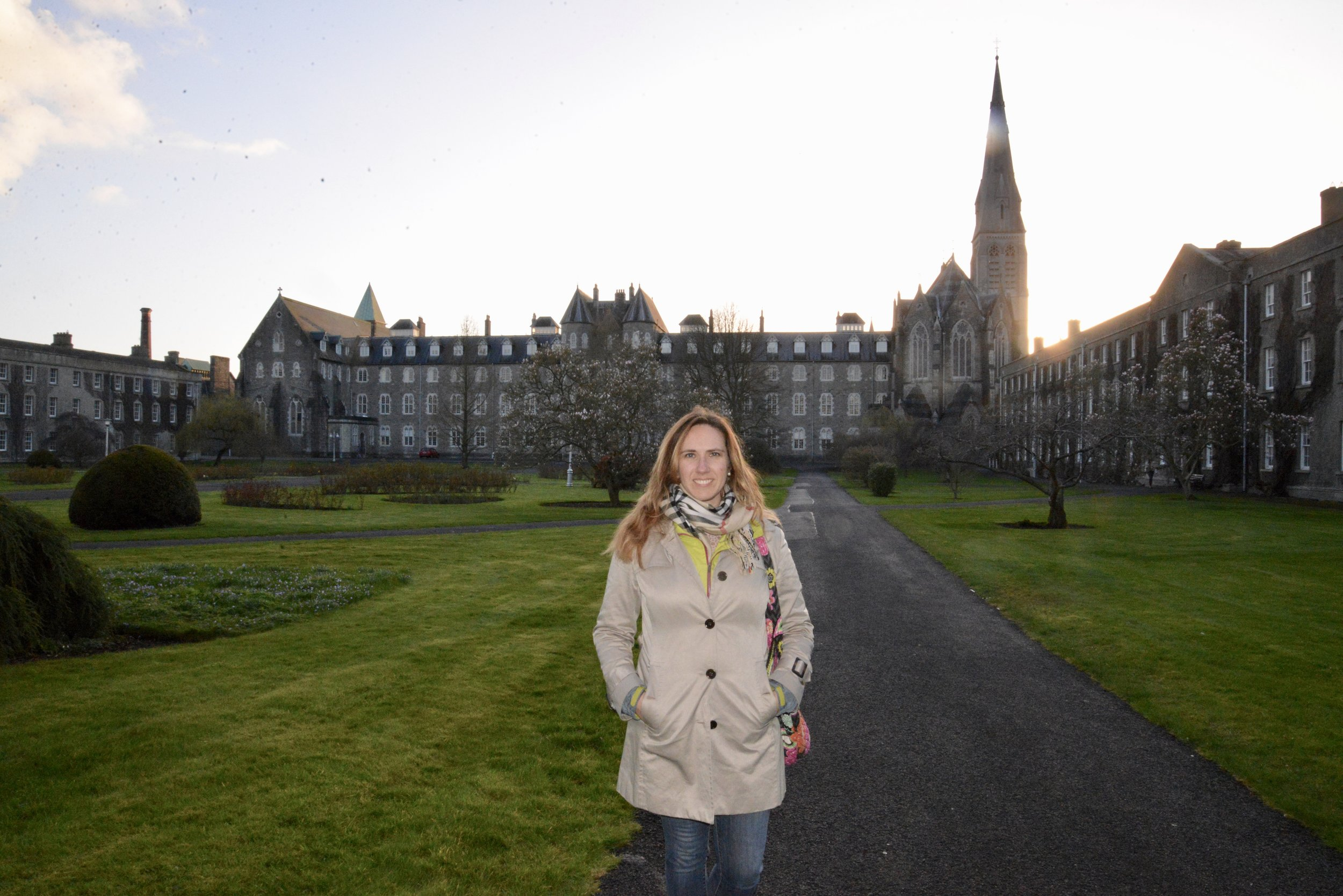 The older part of Maynooth University
