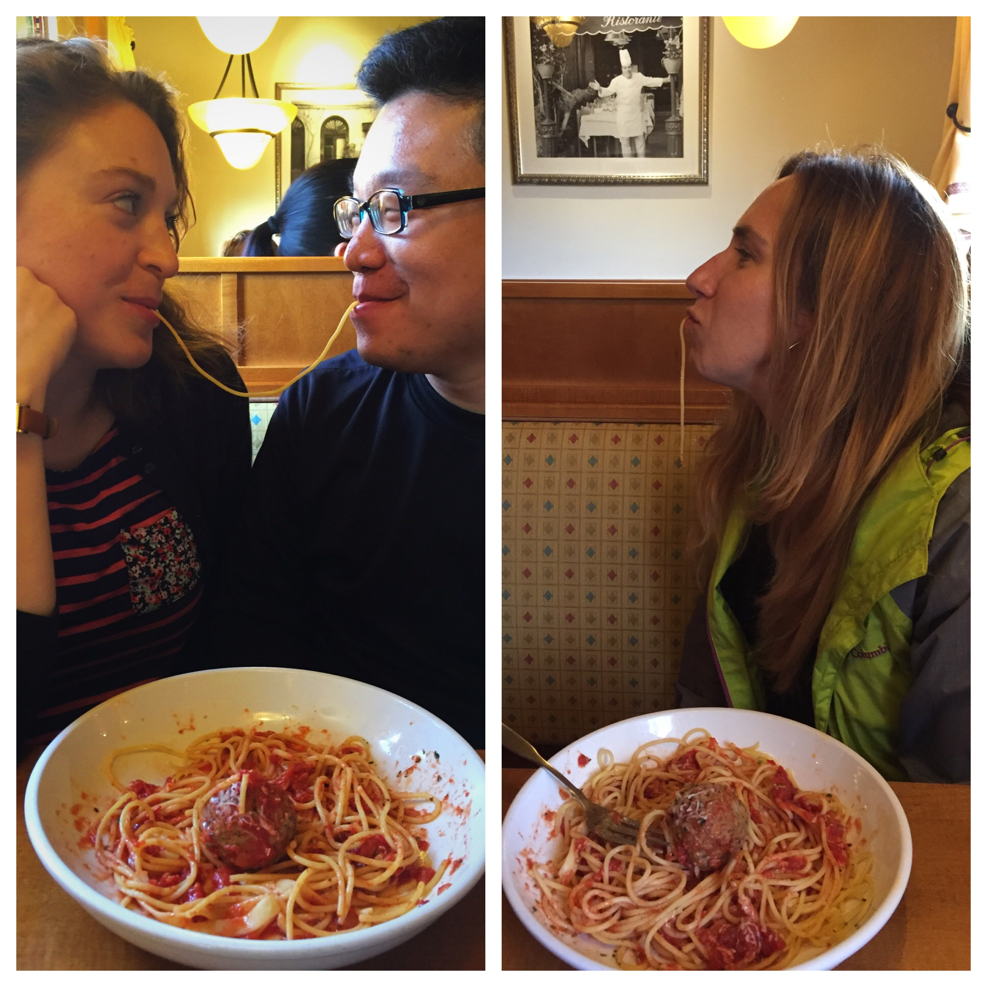 """As a joke I also liked to call this trip """"My Weekend as a Third Wheel"""" since it was just me, my roommate Jamie, and her boyfriend Steven. The only real benefit I got from it was this awesome photo op."""