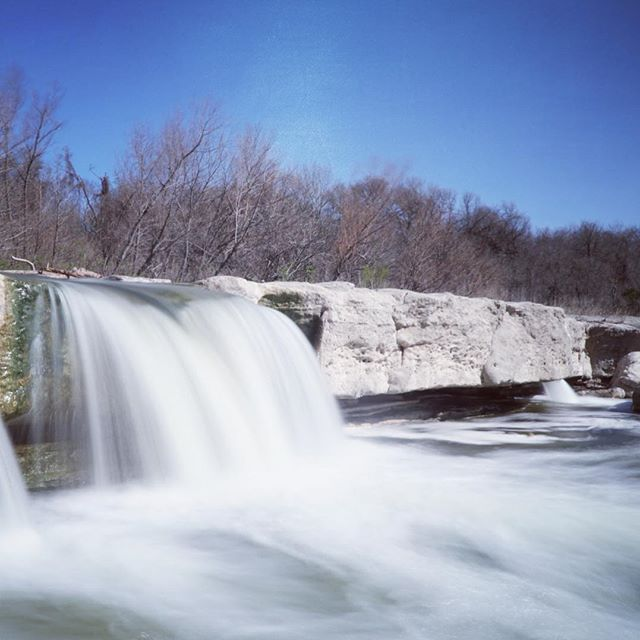 Hiking around McKinney! #longexposure #waterfall #statepark #austin