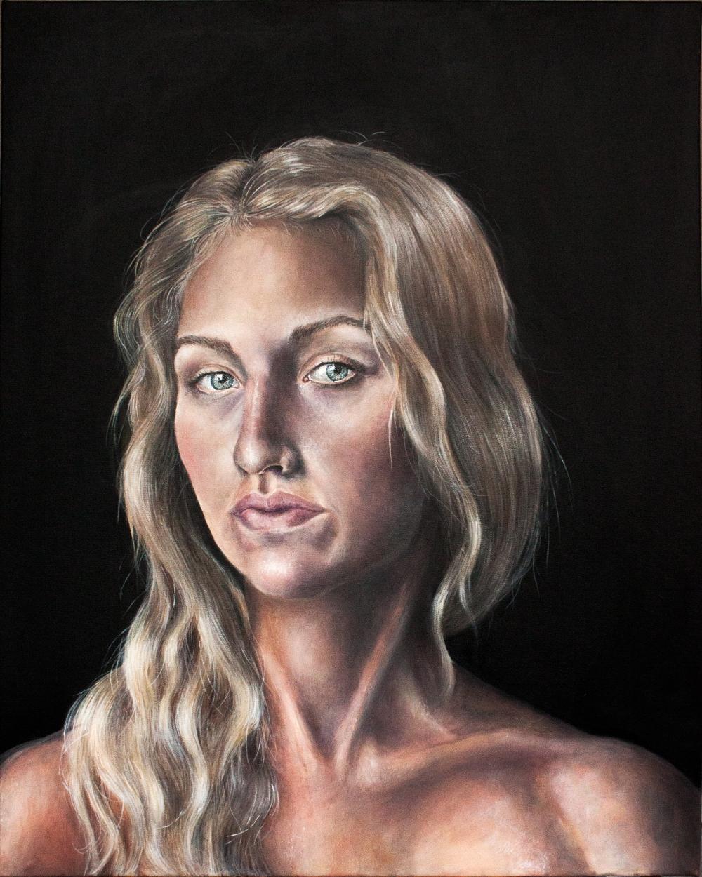 Cathleen - Self portrait