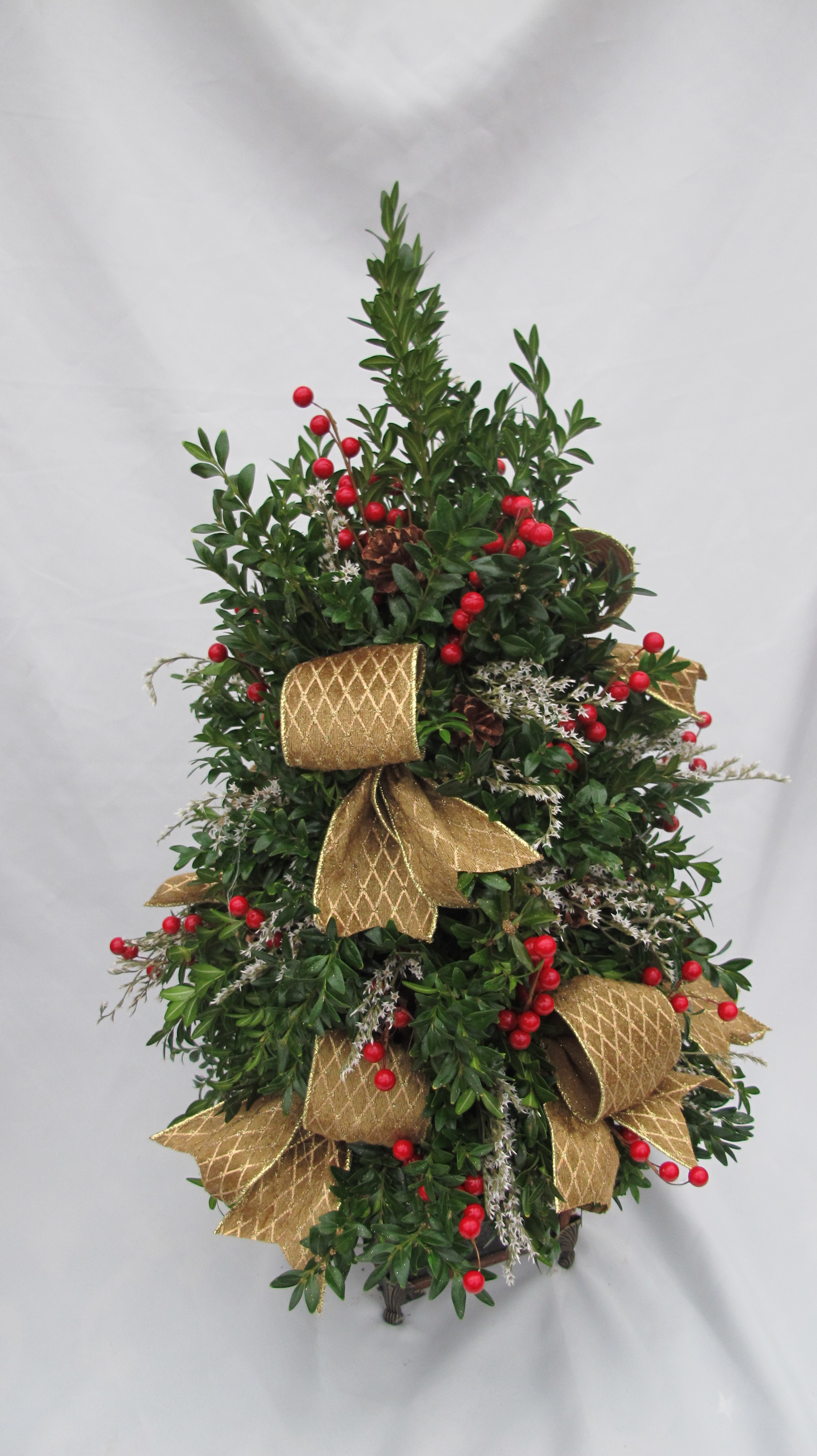 B- Country style boxwood tree.JPG