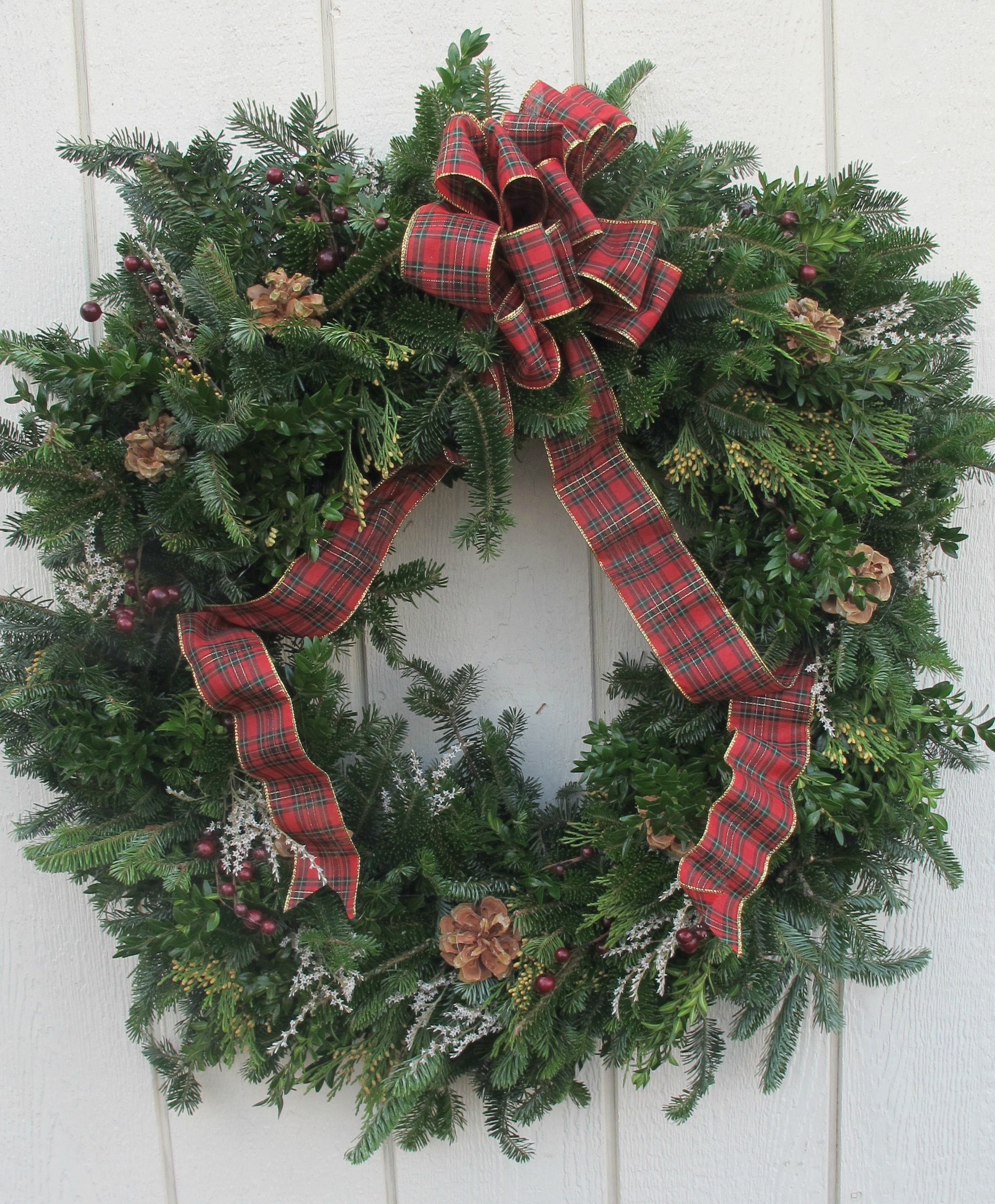 W- Custom mixed wreath with country bow.jpg