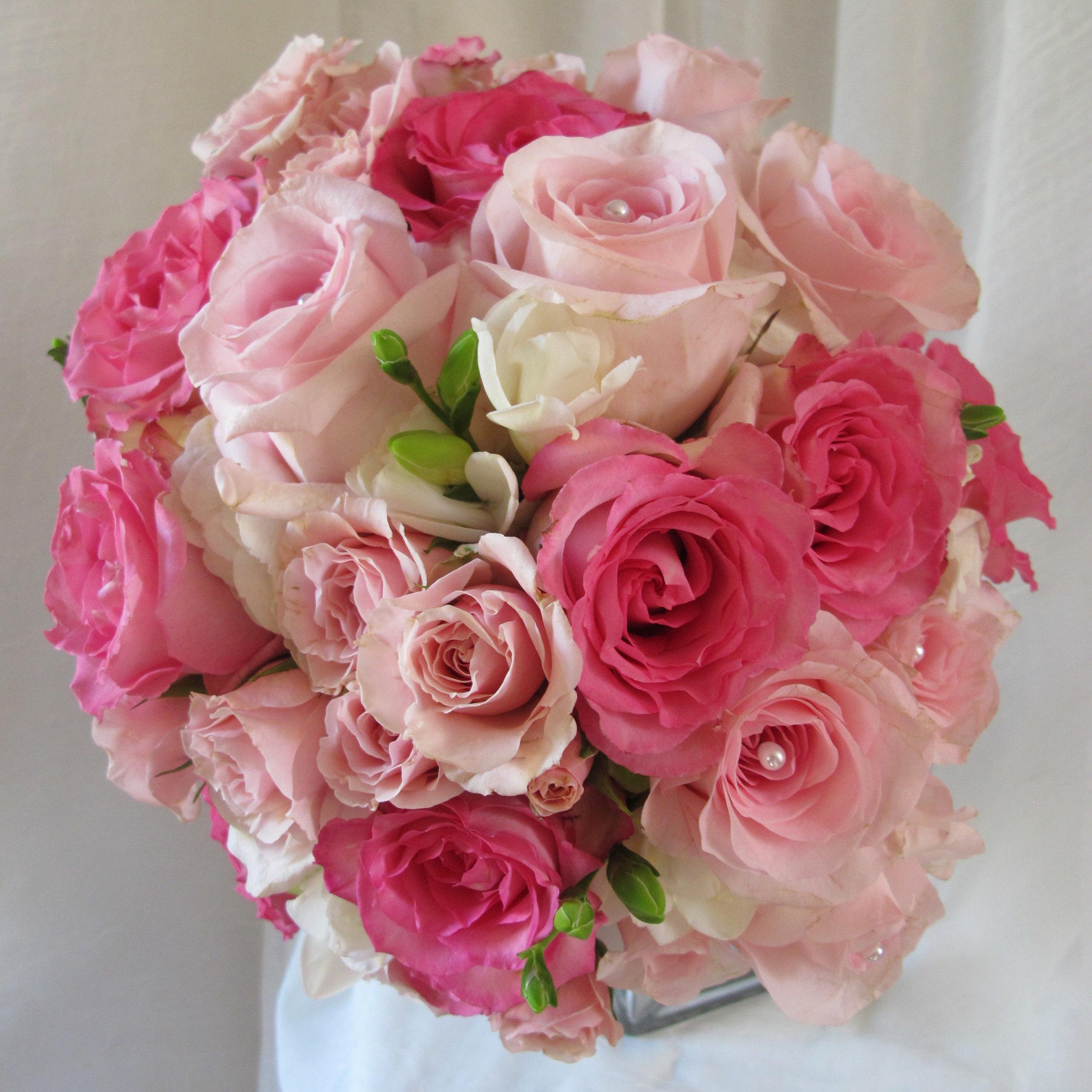 Hand Held Pink roses.JPG