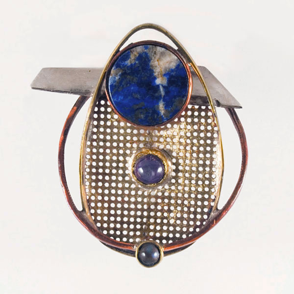 ORBIT BROOCH #1