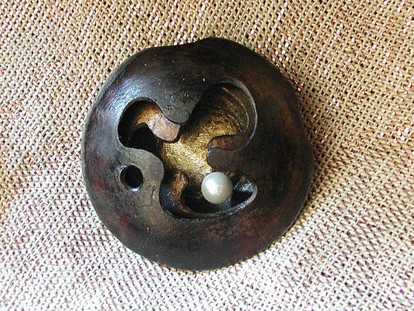 Iron Pod Pendant #4