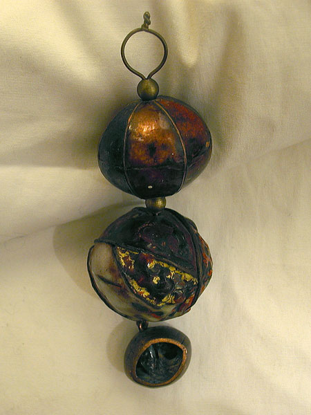 Enamled Beads Pendant