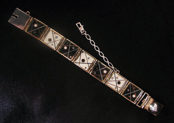 Reversible Dot Link Bracelet #5
