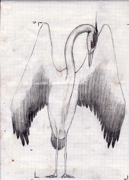 Heron Sculpture Process