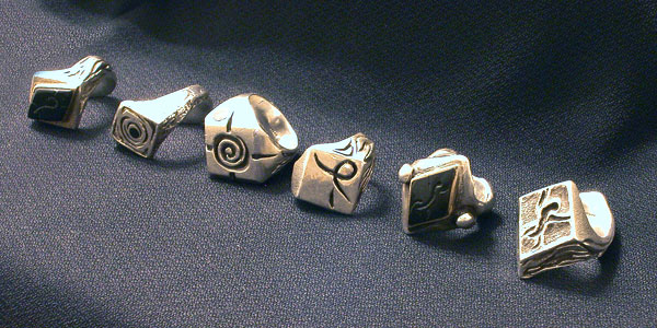 Custom Burning Man Rings