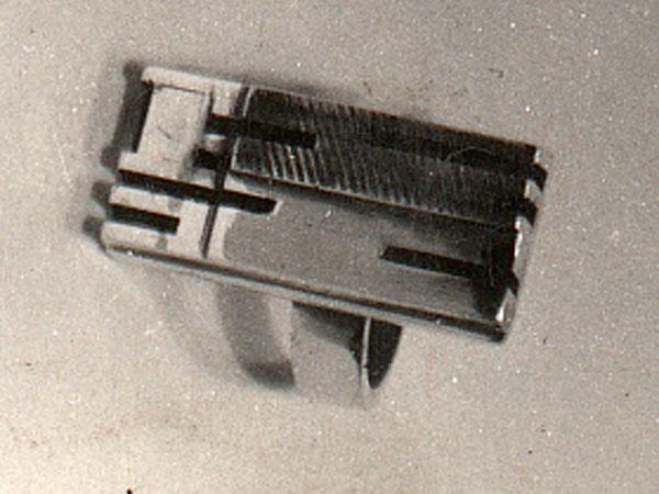 Cubist Constructivist Ring