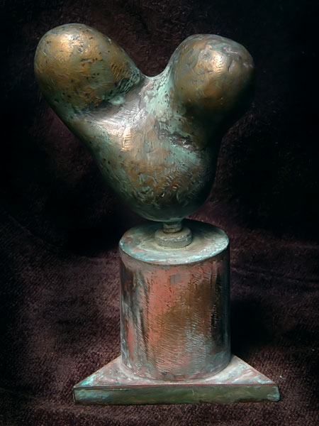 Abstract Bronze