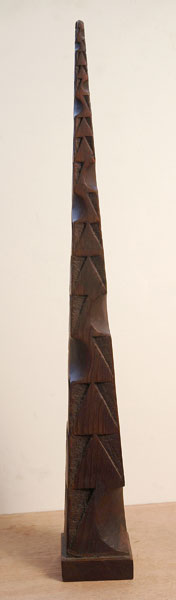 Pyramid Wood Maquette