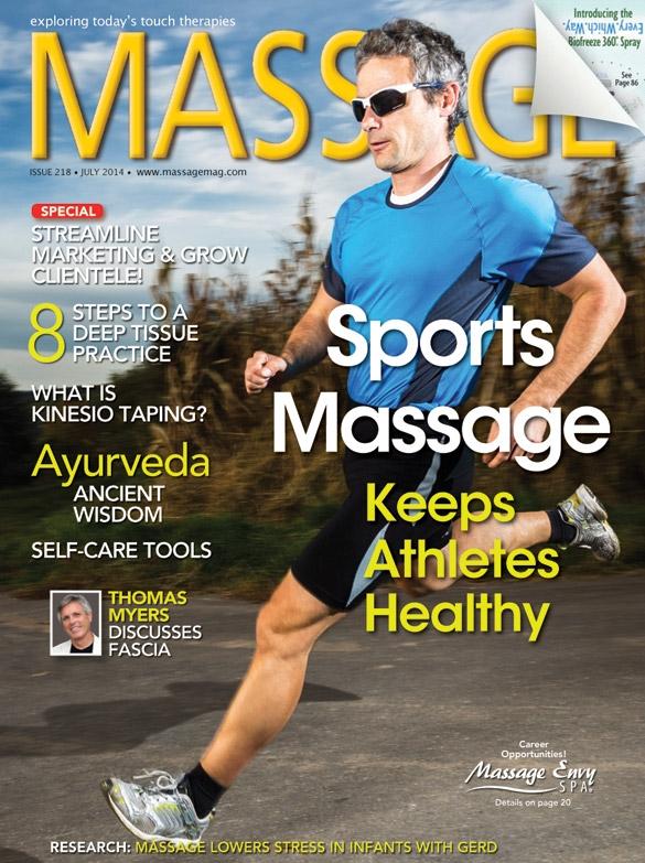 Massage Magazine -July 2014