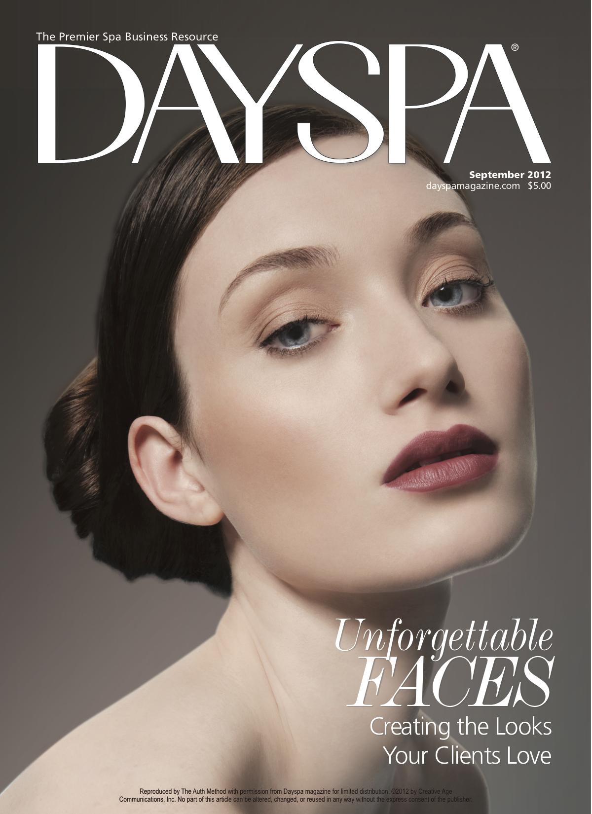 Day Spa Magazine - Sept. 2012