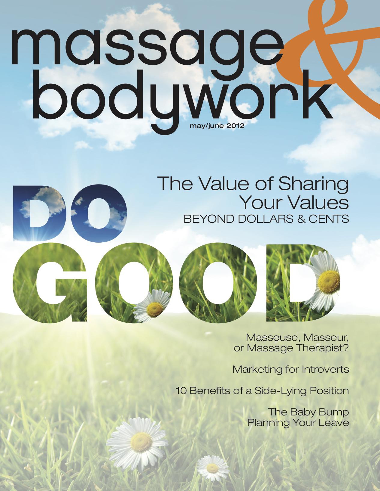 Massage & Bodywork - May / June 2012