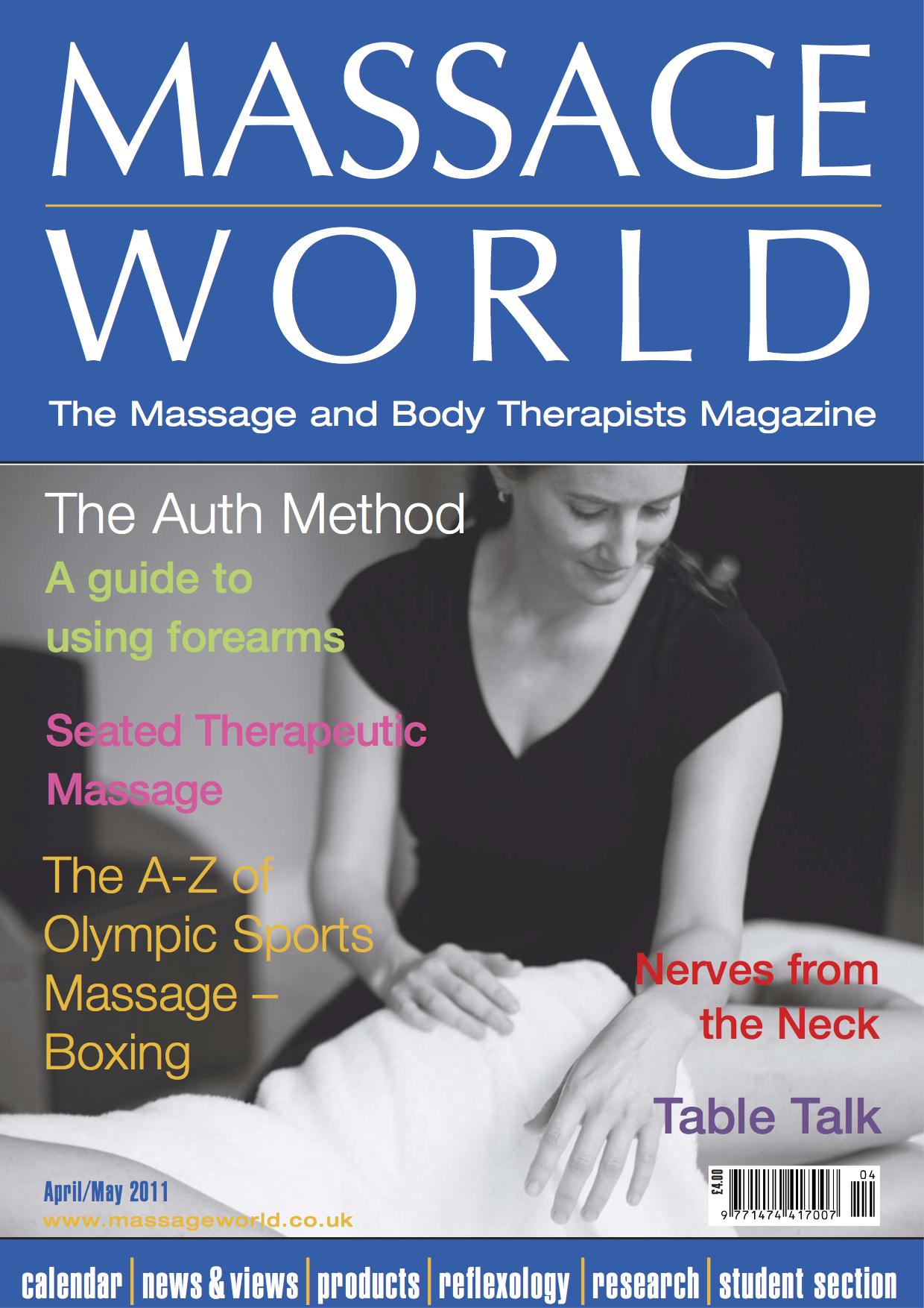 Massage World - April / May 2011