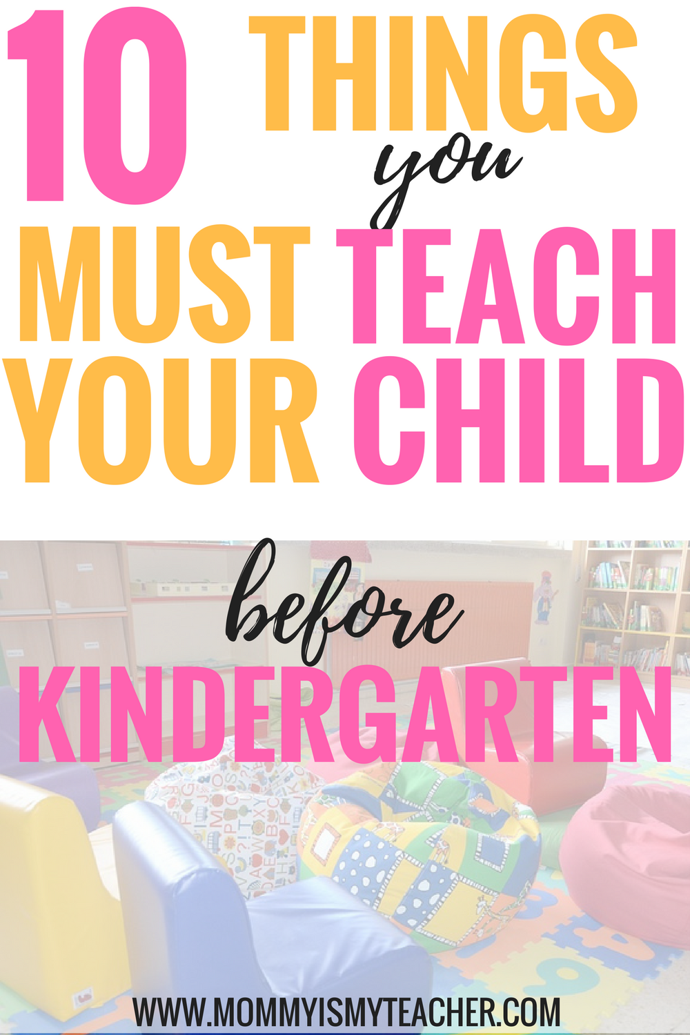 Wow! I didn't know my child needs to know all of these for kindergarten readiness! tip #5 is great! It will definitely help my child pass all the kindergarten readiness assessments.
