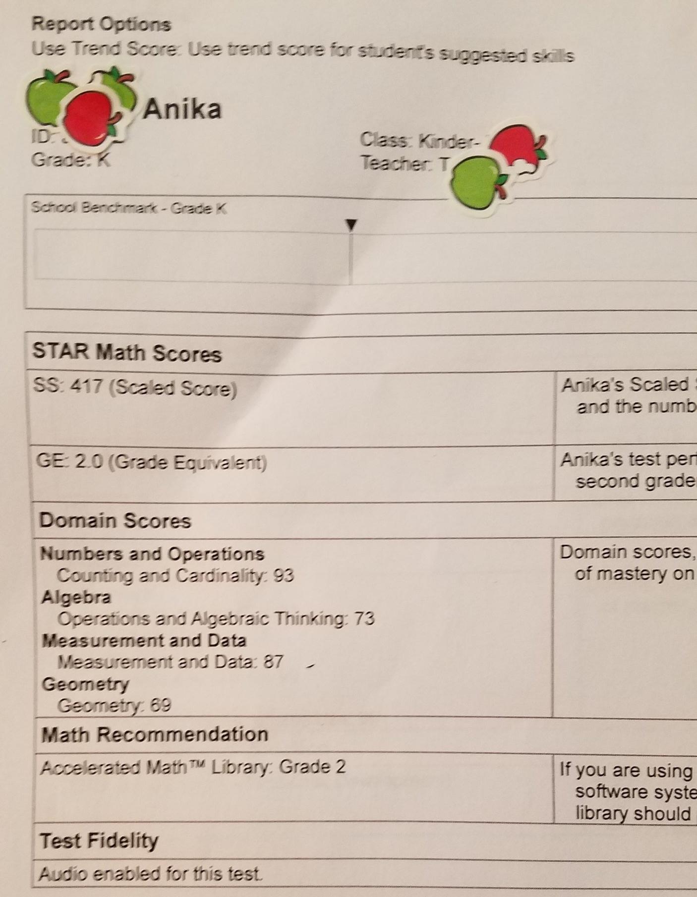 Kindergarten Math: 2nd Grade Level