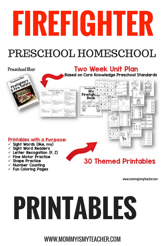 firefighter preschool kindergarten homeschool printables.png
