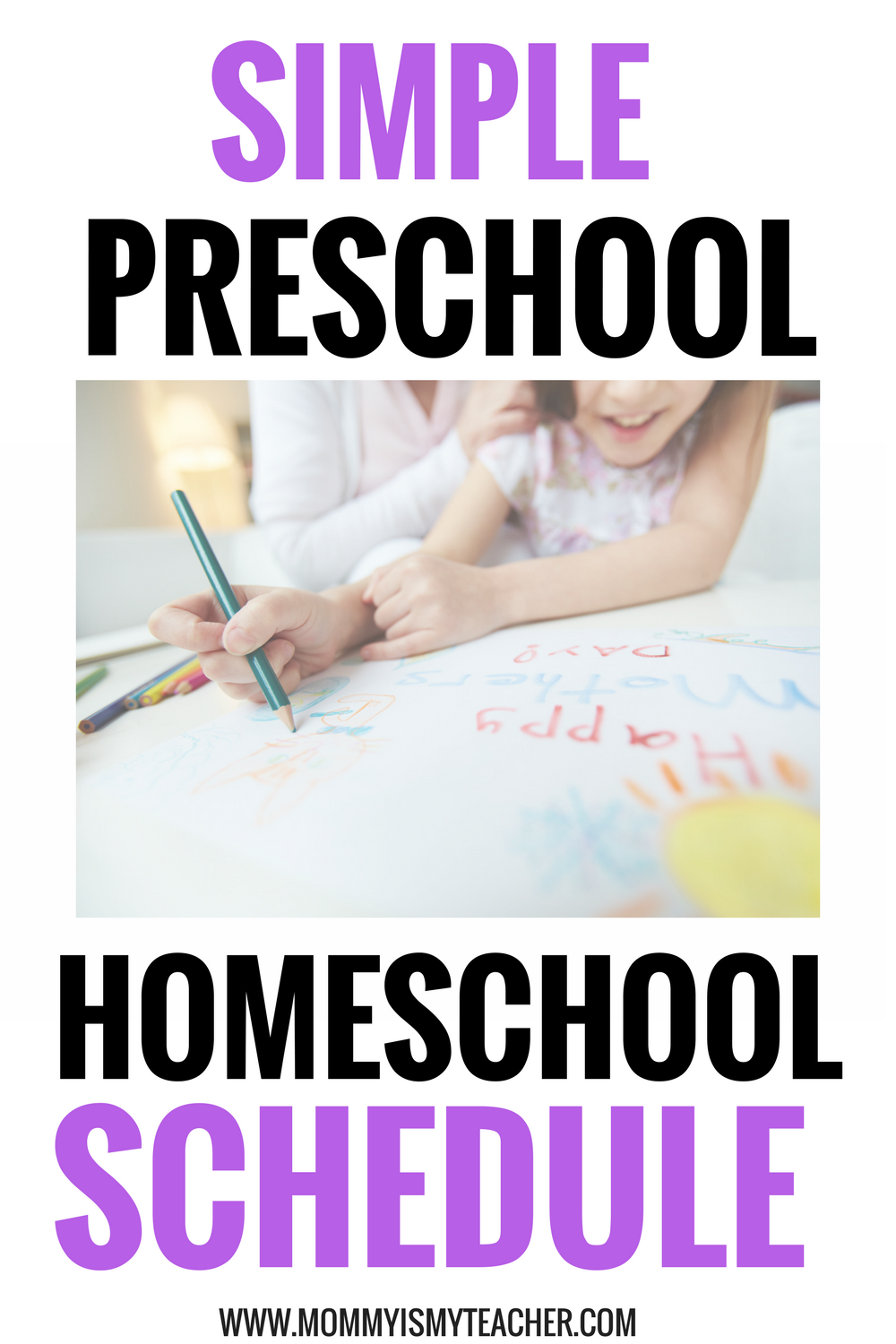 Wow, this preschool homeschool schedule is so simple and easy to follow! This makes my preschool homeschool curriculum planning a breeze!