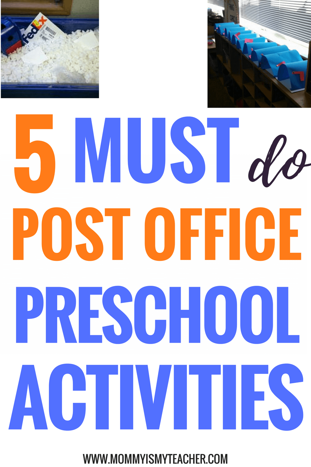 Wow, these post office theme preschool activities are great for preschool homeschool! I love these preschool activities at home!